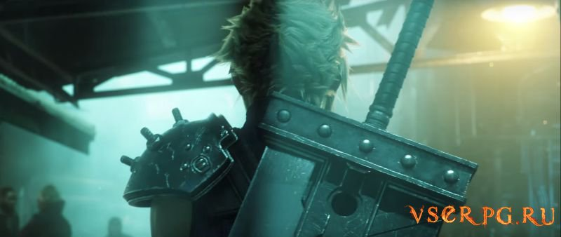 Final Fantasy VII Remake (2015) screen 3