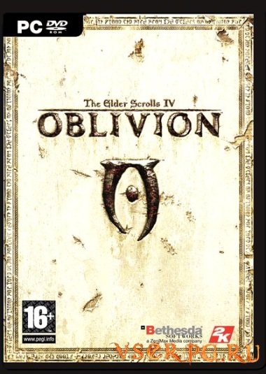 Постер игры The Elder Scrolls IV: Oblivion
