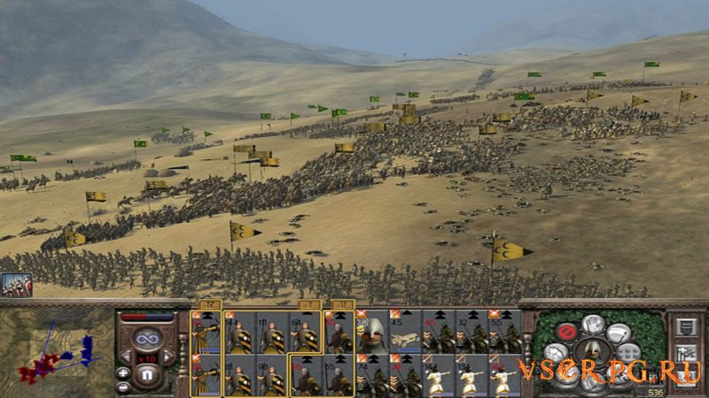 Medieval 2 Total War screen 1