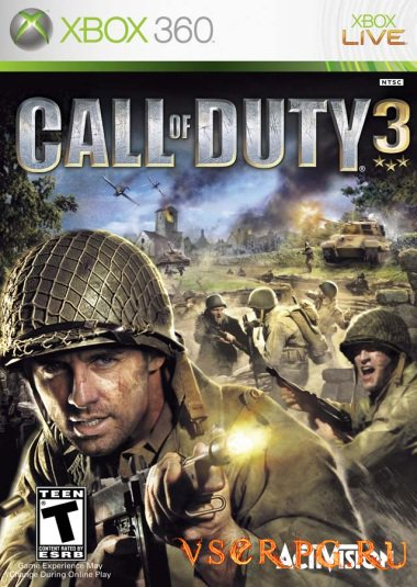 Постер игры Call of Duty 3