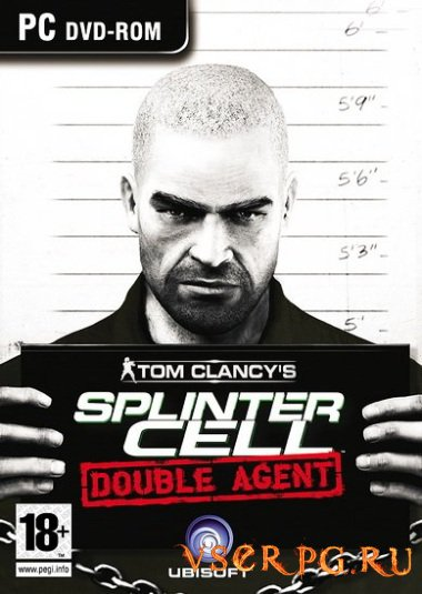 Постер игры Splinter Cell Double Agent