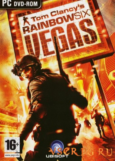 Постер игры Rainbow Six Vegas
