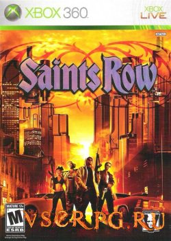 Постер игры Saints Row 1