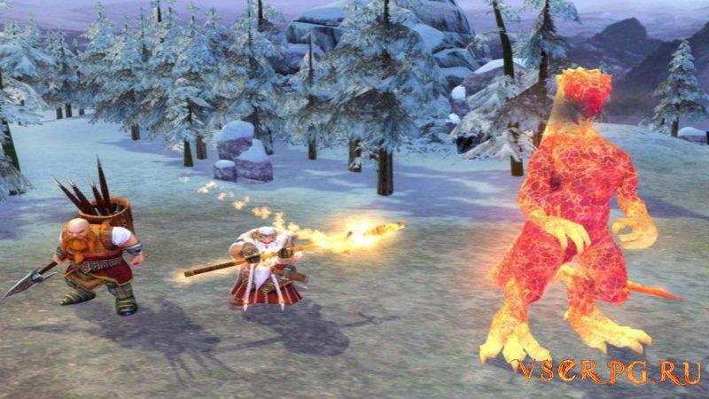 Герои 5: Владыки Севера screen 2