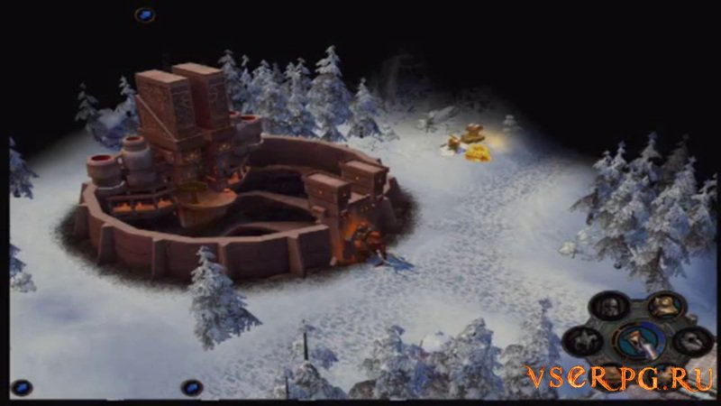 Heroes of Might and Magic V: Hammers of Fate screen 1