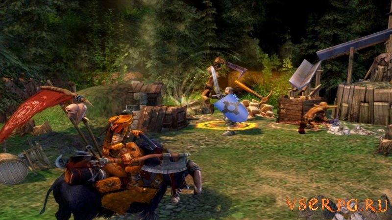 Heroes of Might and Magic V: Hammers of Fate screen 3