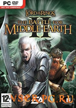 Постер игры The Lord of the Rings The Battle for Middle Earth 2