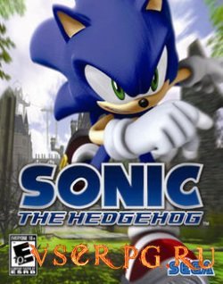 Постер игры Sonic The Hedgehog (2006)