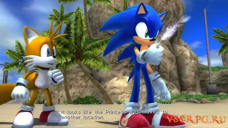 Sonic The Hedgehog (2006) screen 2