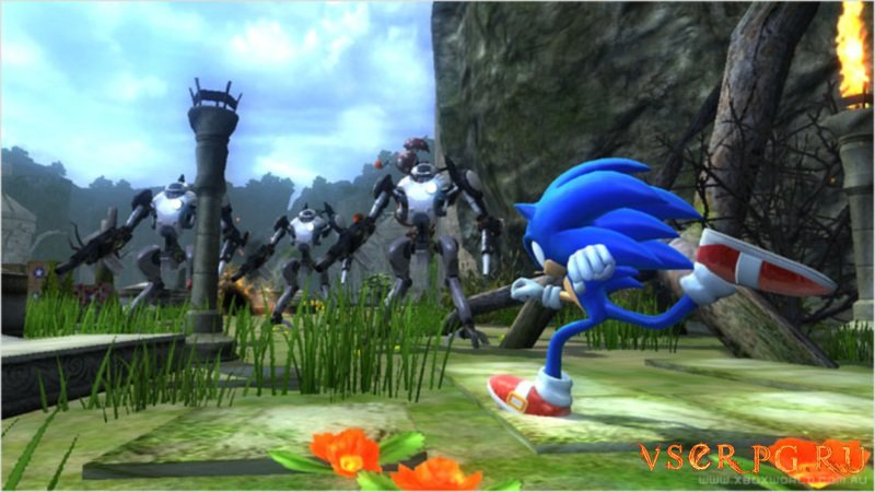 Sonic The Hedgehog (2006) screen 1