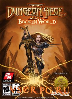 Постер игры Dungeon Siege 2: Broken World