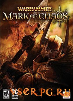 Постер игры Warhammer Mark of Chaos