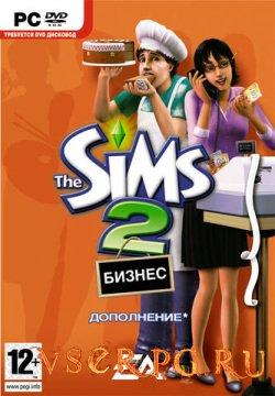 Постер игры Симс 2: Бизнес