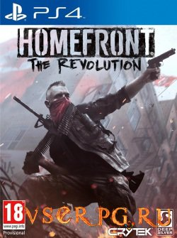 Постер игры Homefront The Revolution [PS4]