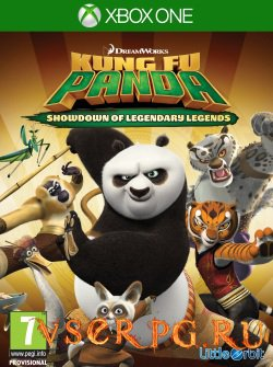 Постер игры Kung Fu Panda: Showdown of Legendary Legend [Xbox One]