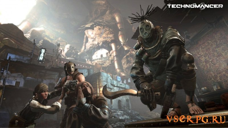 The Technomancer screen 1