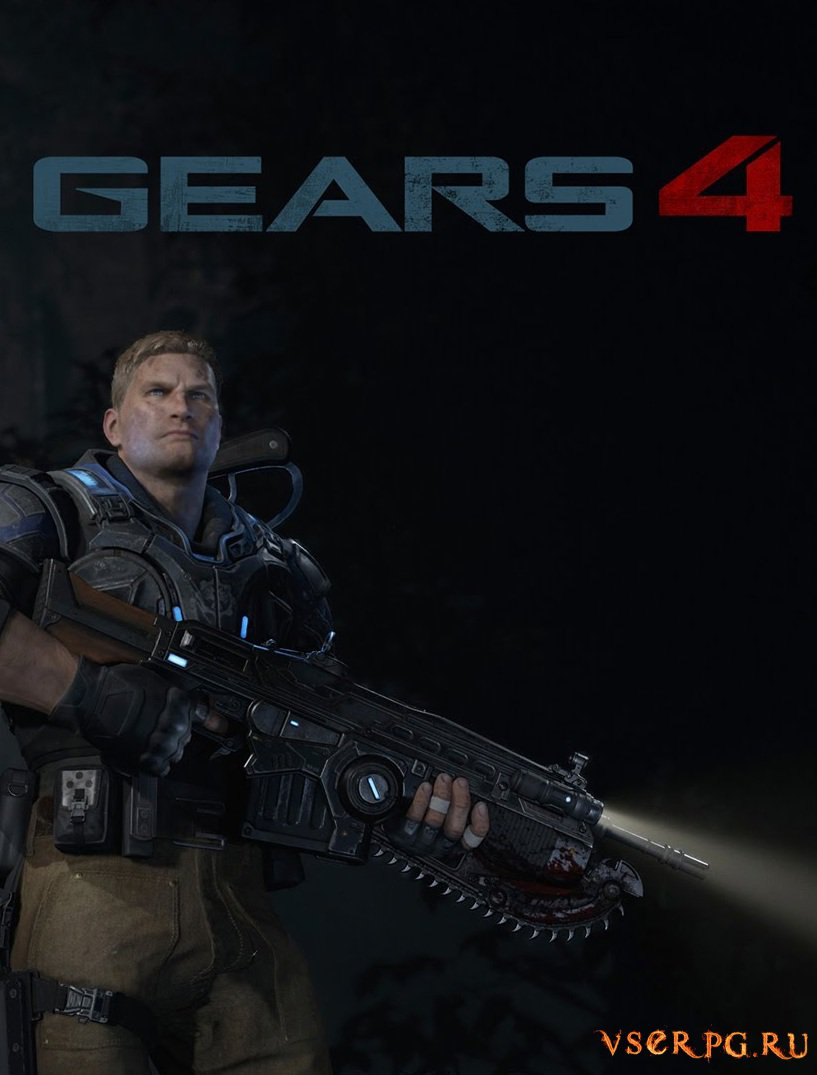 Постер игры Gears of War 4