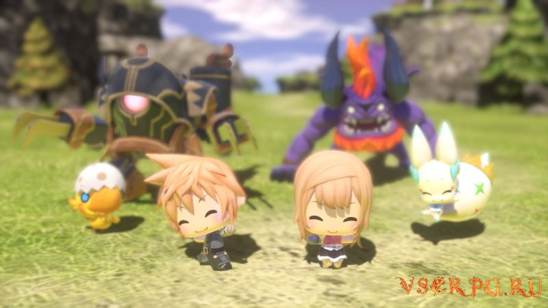 World of Final Fantasy screen 1