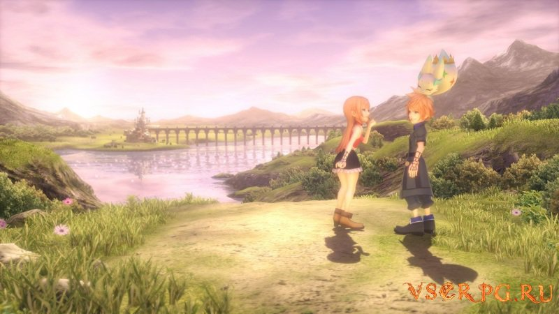 World of Final Fantasy screen 2