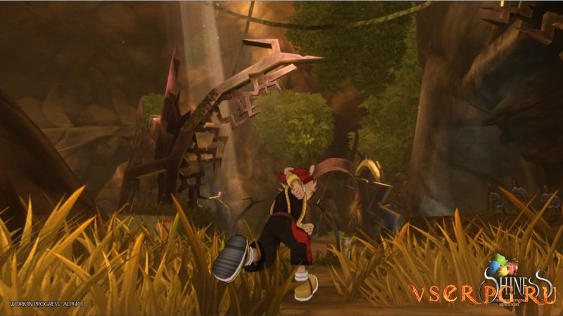 Shiness The Lightning Kingdom screen 1