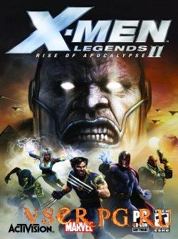 Постер игры X-Men Legends 2: Rise of Apocalypse