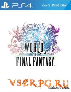 Постер игры World of Final Fantasy