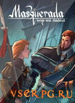 Постер игры Masquerada Songs and Shadows