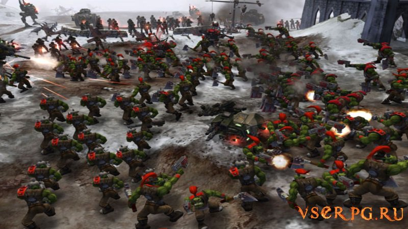 Dawn of War Winter Assault screen 2