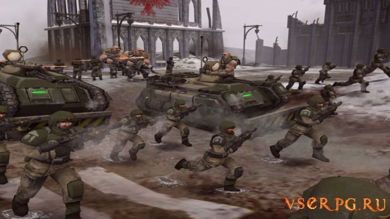 Dawn of War Winter Assault screen 1