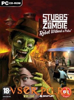 Постер игры Stubbs the Zombie in Rebel Without a Pulse