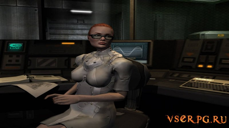 Doom 3 Resurrection of Evil screen 1