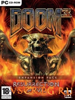Постер Doom 3 Resurrection of Evil
