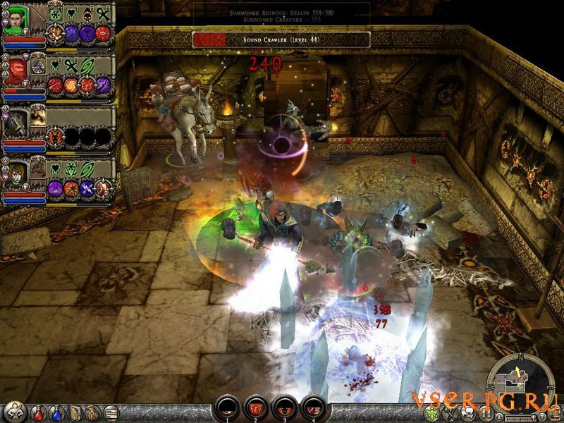 Dungeon Siege 2 screen 1
