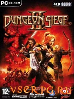 Постер игры Dungeon Siege 2