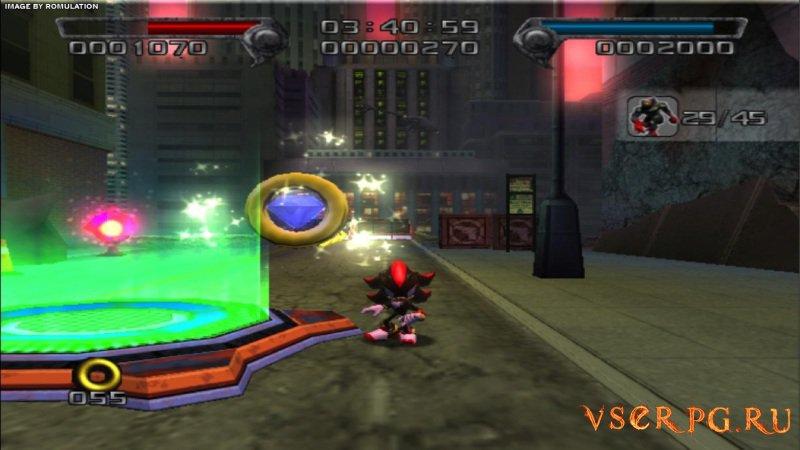 Shadow the Hedgehog screen 1
