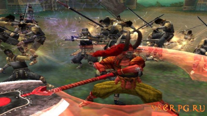 Sengoku Basara screen 1