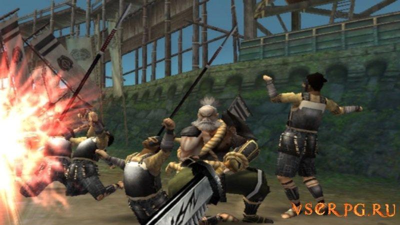 Sengoku Basara screen 3