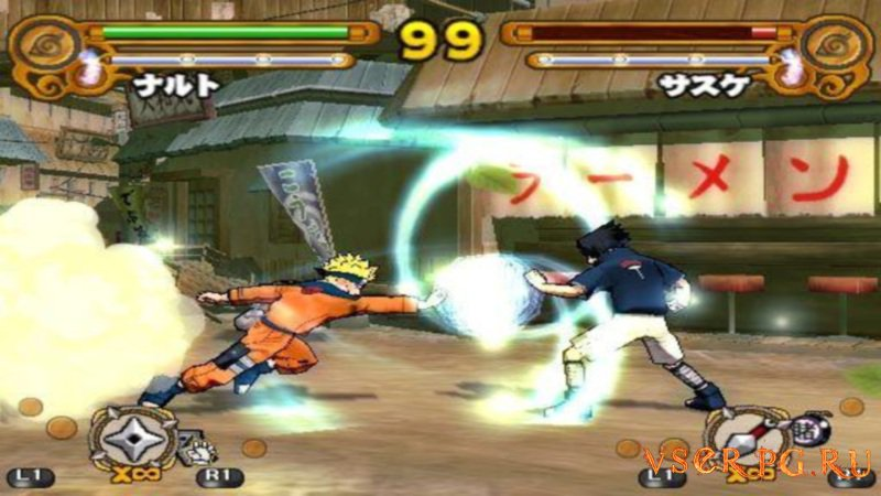 Naruto Ultimate Ninja 3 screen 2