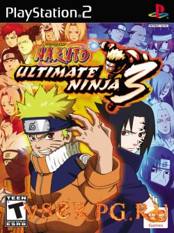 Постер игры Naruto Ultimate Ninja 3
