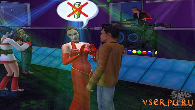 Симс 2: Ночная жизнь screen 1