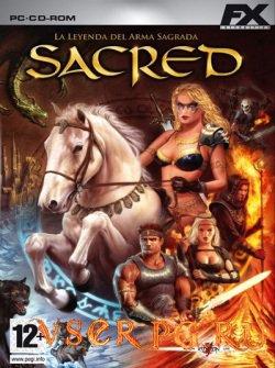 Постер игры Sacred
