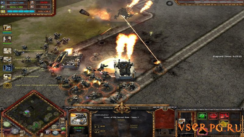 Warhammer 40000: Dawn of War screen 3