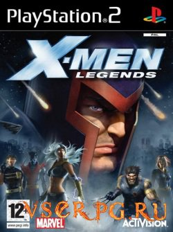 Постер игры X-Men Legends