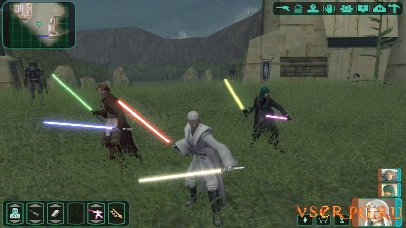 Star Wars Knights of the Old Republic 2 screen 2