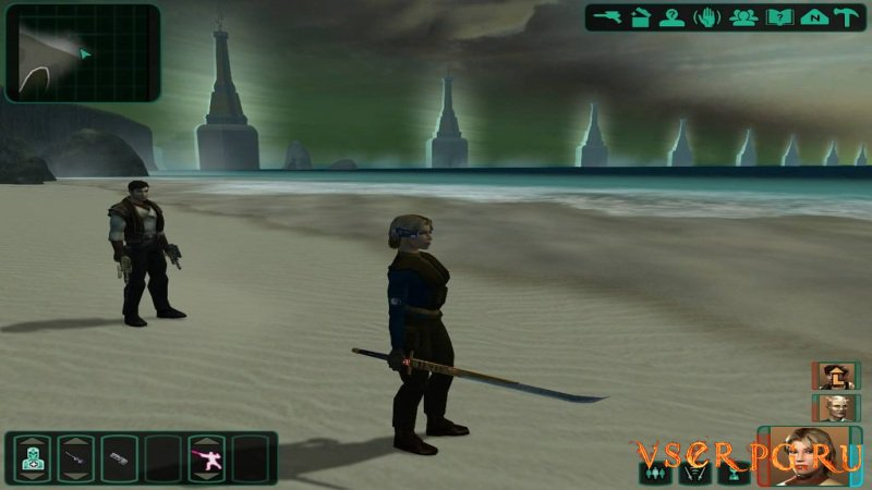 Star Wars Knights of the Old Republic 2 screen 3