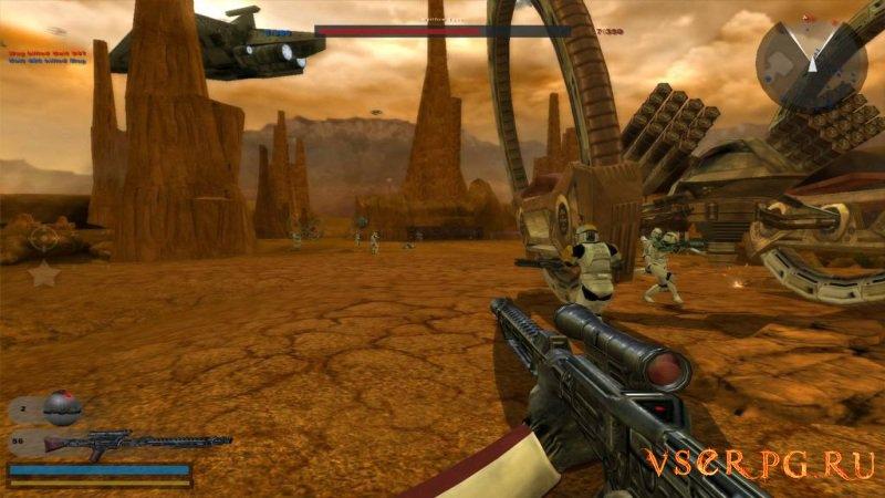Star Wars Battlefront 2 screen 1