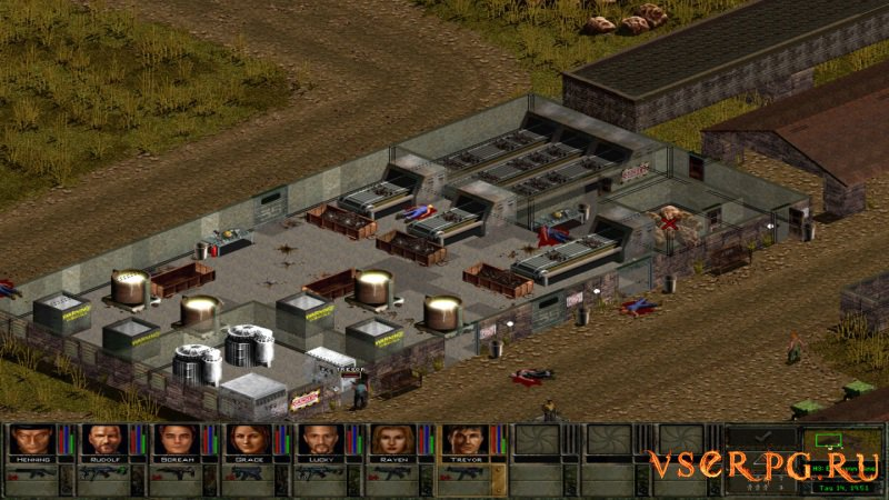 Jagged Alliance 2: Wildfire screen 2