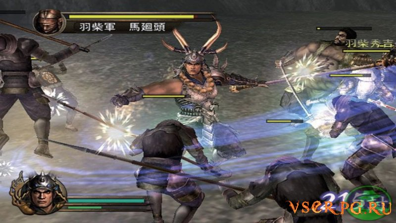 Samurai Warriors screen 3