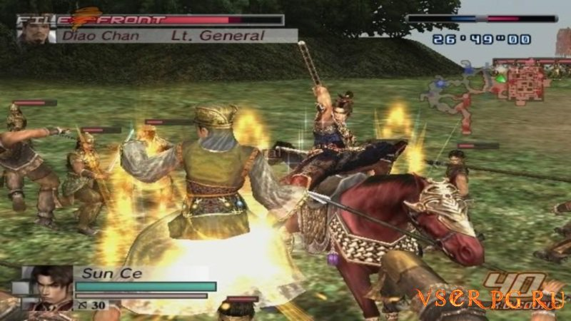 Samurai Warriors screen 2