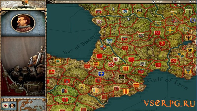 Crusader Kings screen 2